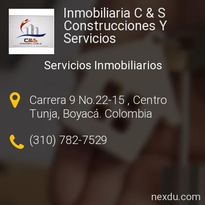 Inmobiliaria C & S Construcciones Y Servicios
