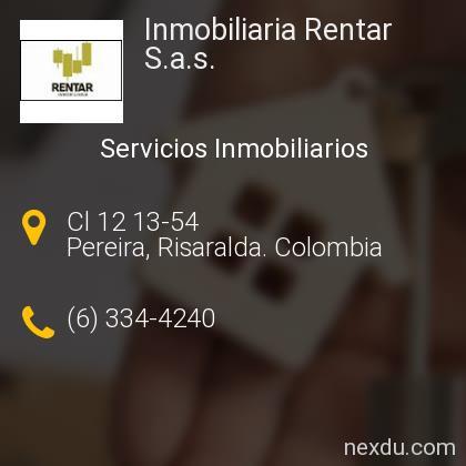 Inmobiliaria Rentar S.a.s.