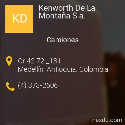 Kenworth De La Montaña S.a.