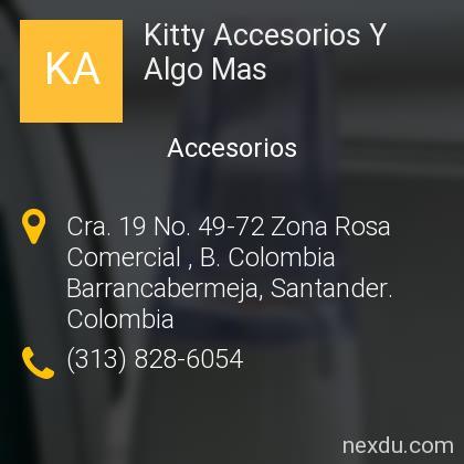 Kitty Accesorios Y Algo Mas