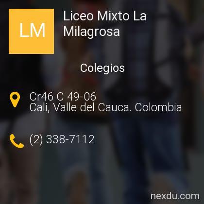 Liceo Mixto La Milagrosa ® Colegios en Cali