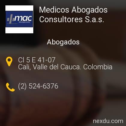 Medicos Abogados Consultores S.a.s.