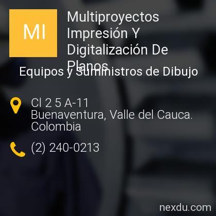 Multiproyectos Impresión Y Digitalización De Planos
