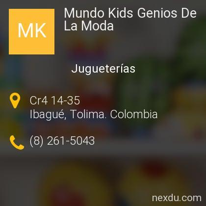 Mundo Kids Genios De La Moda