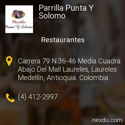 Parrilla Punta Y Solomo