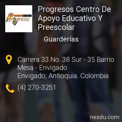 Progresos Centro De Apoyo Educativo Y Preescolar