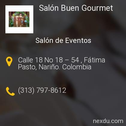 Salón Buen Gourmet