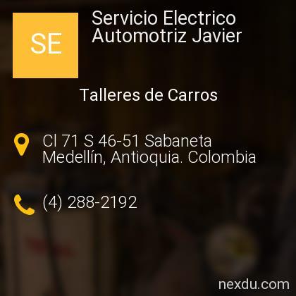Servicio Electrico Automotriz Javier