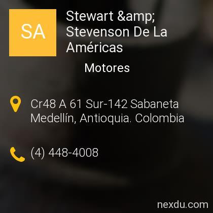 Stewart & Stevenson De La Américas