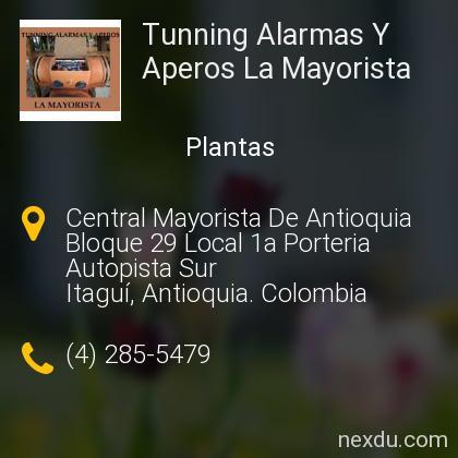 Tunning Alarmas Y Aperos La Mayorista