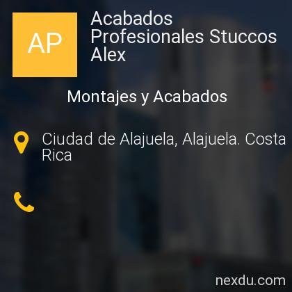 Acabados Profesionales Stuccos Alex