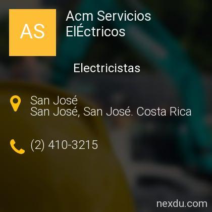 Acm Servicios ElÉctricos