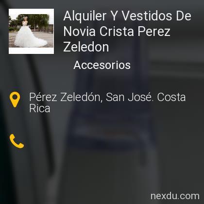 Alquiler Y Vestidos De Novia Crista Perez Zeledon