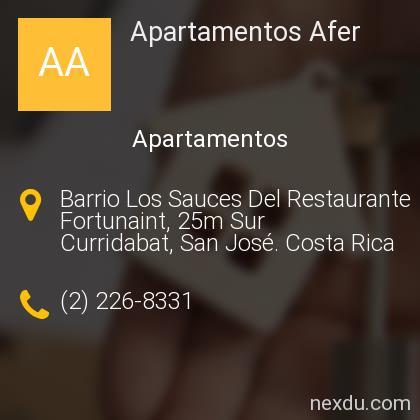 Apartamentos Afer
