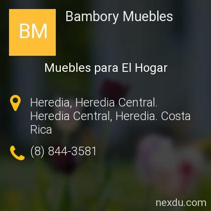 Bambory Muebles