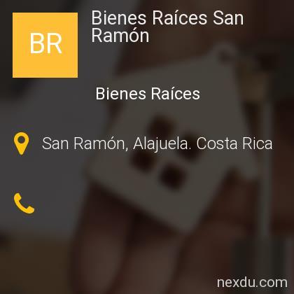Bienes Raíces San Ramón