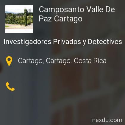Camposanto Valle De Paz Cartago