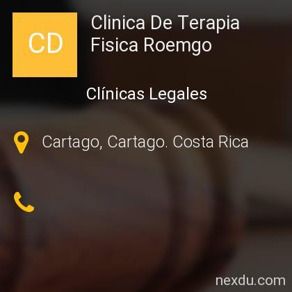 Clinica De Terapia Fisica Roemgo