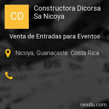 Constructora Dicorsa Sa Nicoya