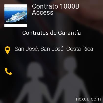 Contrato 1000B Access