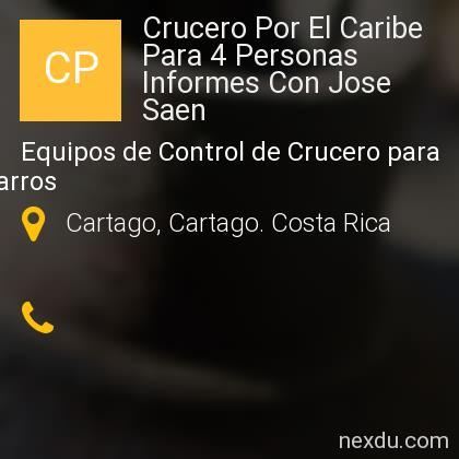 Crucero Por El Caribe Para 4 Personas Informes Con Jose Saen