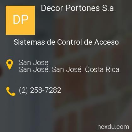 Decor Portones S.a