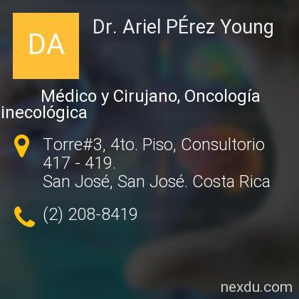 Dr. Ariel PÉrez Young