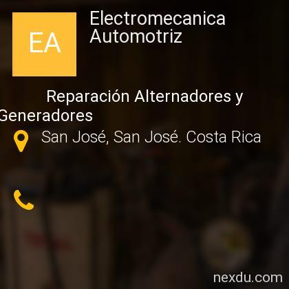 Electromecanica Automotriz