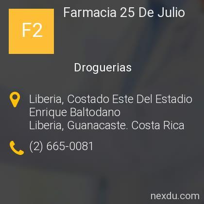 Farmacia 25 De Julio