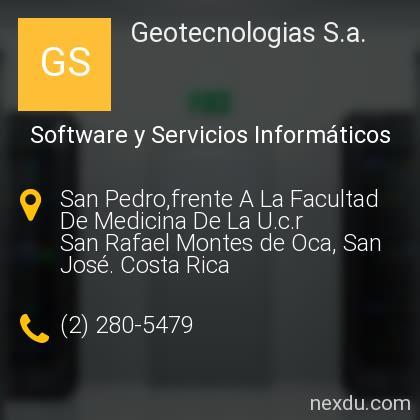 Geotecnologias S.a.