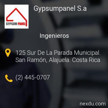 Gypsumpanel S.a