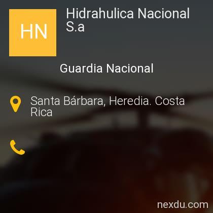 Hidrahulica Nacional S.a