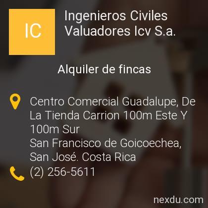 Ingenieros Civiles Valuadores Icv S.a.