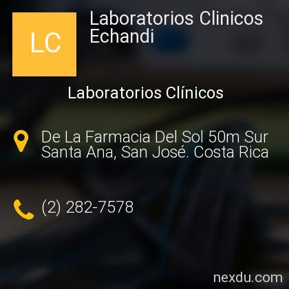 Laboratorios Clinicos Echandi