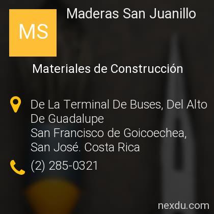 Maderas San Juanillo