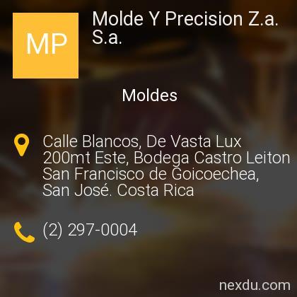 Molde Y Precision Z.a. S.a.
