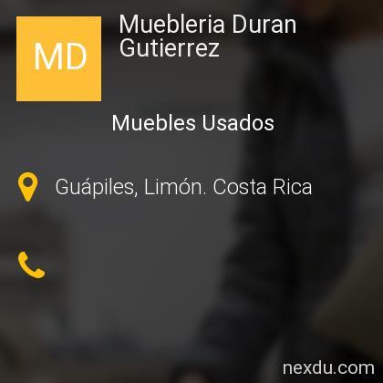 Muebleria Duran Gutierrez