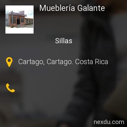 Mueblería Galante