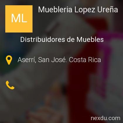 Muebleria Lopez Ureña