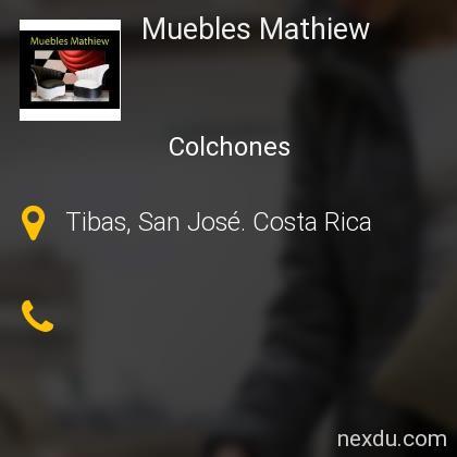 Muebles Mathiew