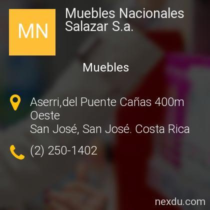 Muebles Nacionales Salazar S.a.