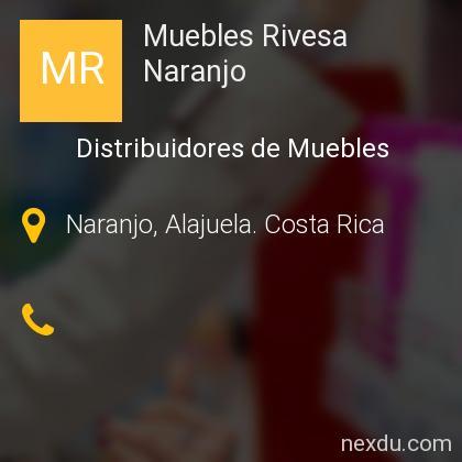 Muebles Rivesa Naranjo