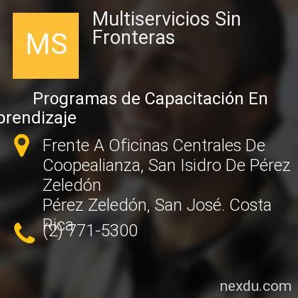Multiservicios Sin Fronteras