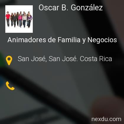 Oscar B. González