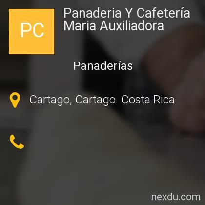 Panaderia Y Cafetería Maria Auxiliadora
