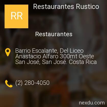 Restaurantes Rustico