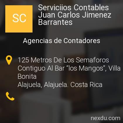 Serviciios Contables Juan Carlos Jimenez Barrantes