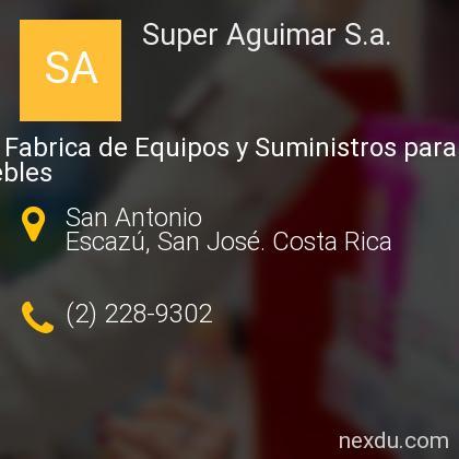 Super Aguimar S.a.