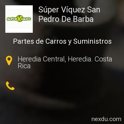 Súper Víquez San Pedro De Barba