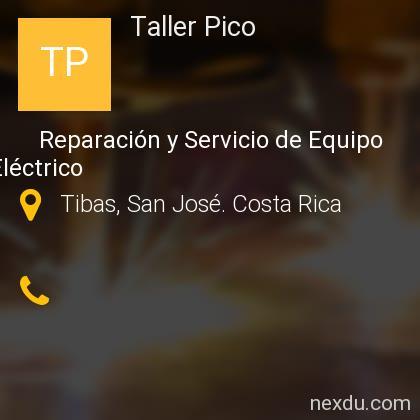 Taller Pico